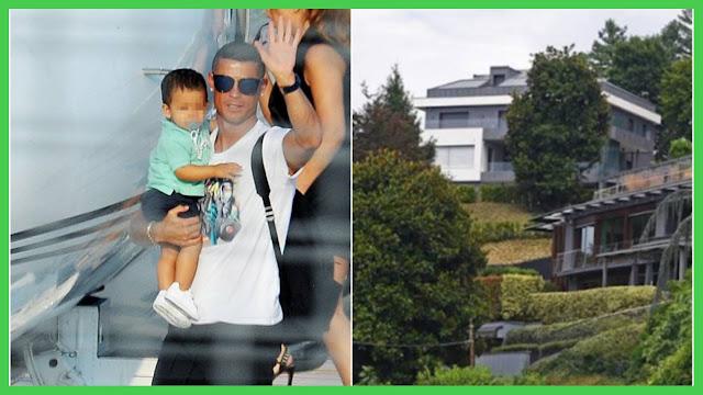 Ronaldo's mansion in Turin