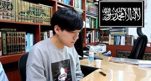 Vlogger Korea Jay Kim Masuk Islam