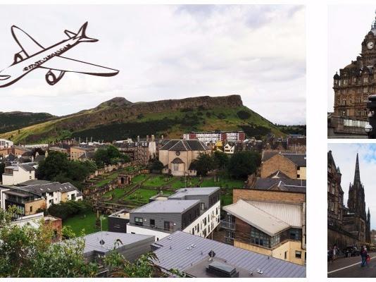 193. Pierwszy lot samolotem. Wakacje w Szkocji 15.08-24.08.