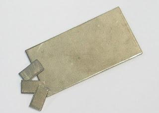 placas de nióbio