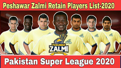 Pehsawer Zalmi All Team Squad In PSL 2020