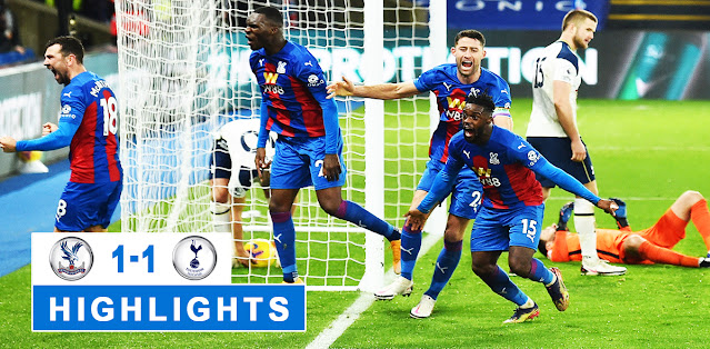 Crystal Palace vs Tottenham Hotspur – Highlights