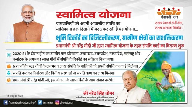 PM Swamitra Yojana Apply | प्रधानमंत्री स्वामित्व योजना ऑनलाइन पंजीकरण