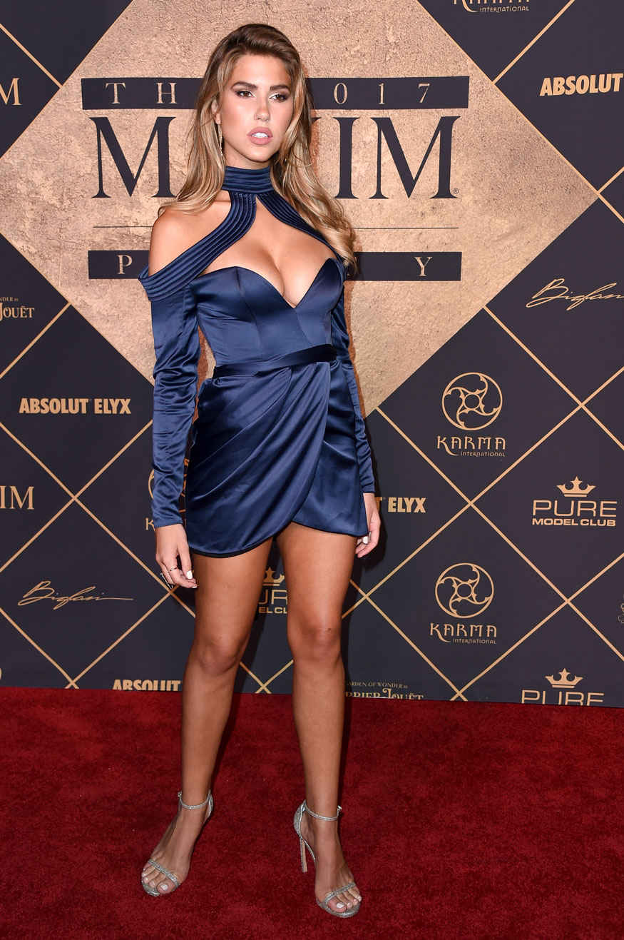 Kara Del Toro at 2017 MAXIM Hot 100 Party