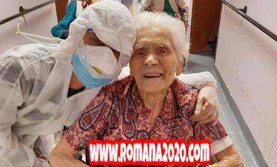 أخبار العالم نجاة عجوز إيطالية عمرها 103 سنة من فيروس كورونا المستجد covid-19 corona virus كوفيد-19