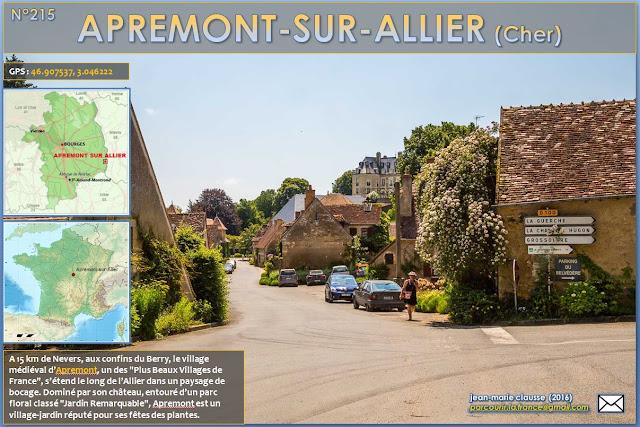 Parcourir la france 215 apremont sur allier cher 18 for Apremont sur allier jardin