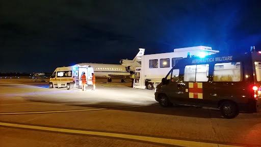 Da Brindisi a Roma per salvare una giovane vita in un Falcon 900 dell'Aeronatica Militare