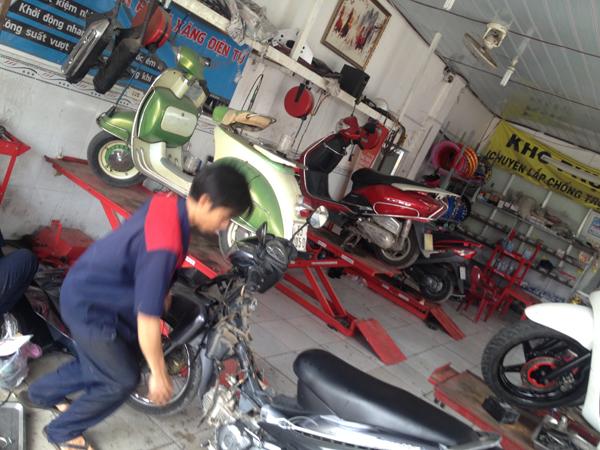 Trung tâm sửa xe chuyên nghiệp