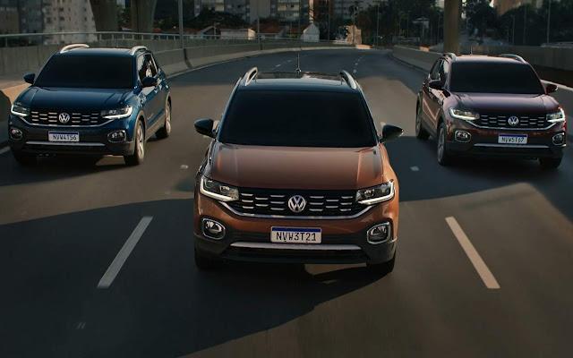 Novo Volkswagen T-Cross 2020