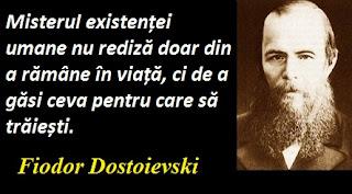 Maxima zilei: 11 noiembrie -  Fiodor Mihailovici Dostoievski