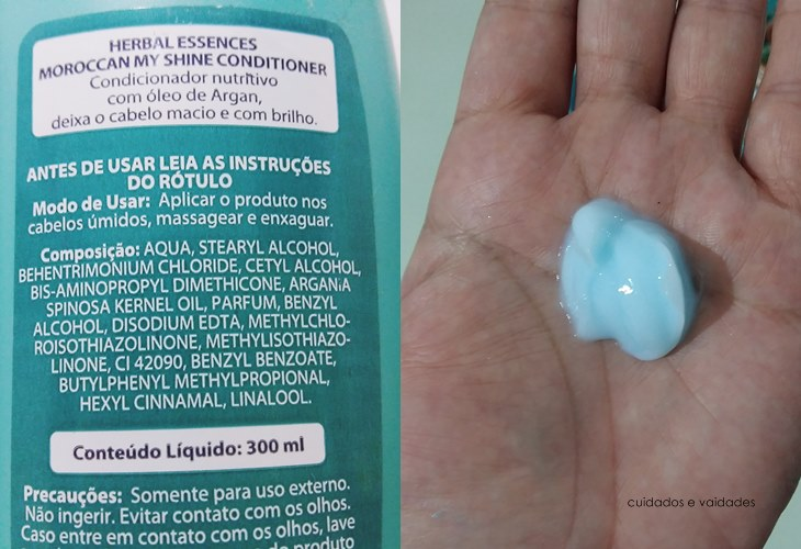 Condicionador Herbal Essences Maroccan da Clairol