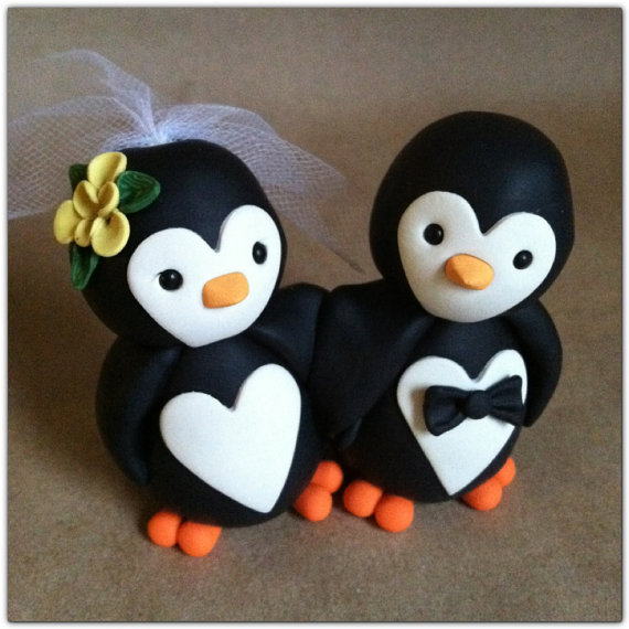 penguin wedding cake topper unxia penguin wedding cake topper 18187