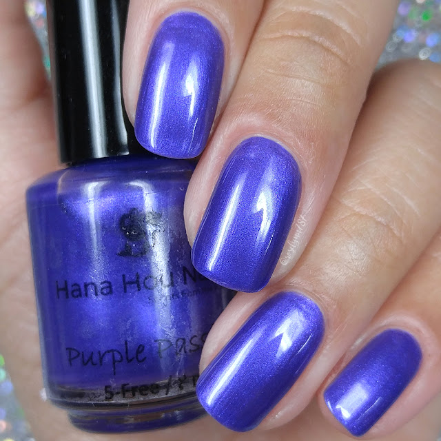 Hana Hou Nails - Purple Passion