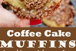 Low Carb Coffee Cake Muffins