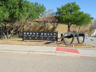 buddy holly center sign