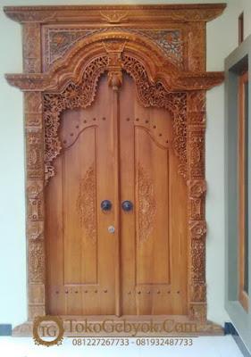 Pintu Gebyok Jati Pintu Jepara