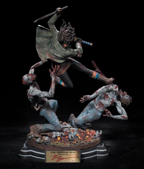Diorama Michonne The Walking Dead