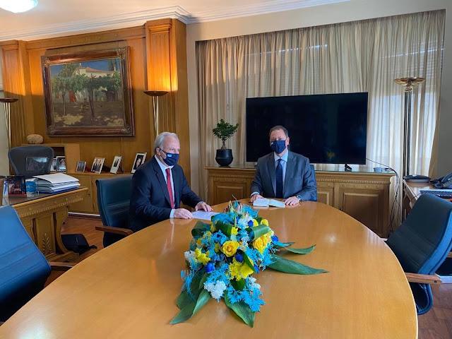 Συνάντηση Ανδριανού με Λιβανό για τα αγροτικά ζητήματα της Αργολίδας και την ενίσχυση των παραγωγών εσπεριδοειδών