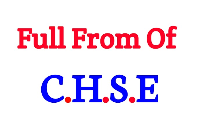 what is full from of CHSE ?