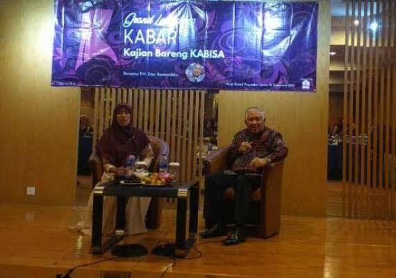 Din Syamsuddin Resmikan Kabar Kabisa di Bandung