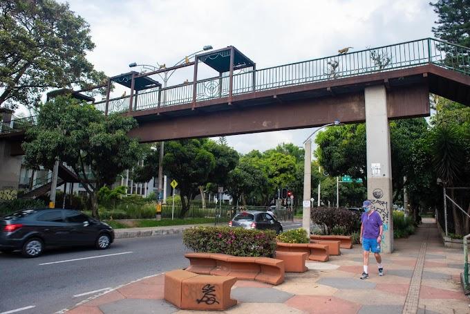 Avanzan las obras: 13 puentes peatonales y nueve vehiculares serán intervenidos en puntos estratégicos de Medellín