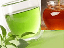 How to get glowing skin using Green Tea Water And Honey Face Pack :