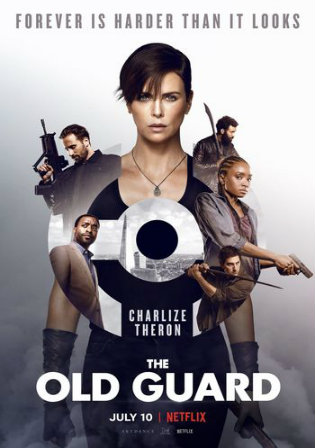The Old Guard 2020 WEB-DL 400Mb Hindi Dual Audio 480p Watch Online Full Movie Download bolly4u