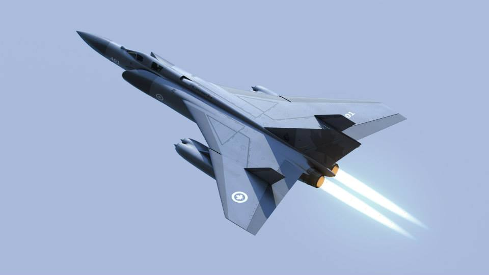 New Avro Arrow Design