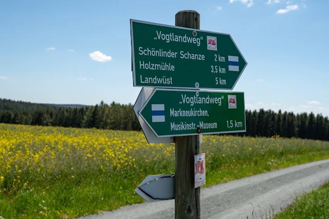 Vogtland Panorama Weg  Etappe 7 von Bad Brambach nach Markneukirchen  Wandern in Sachsen 13