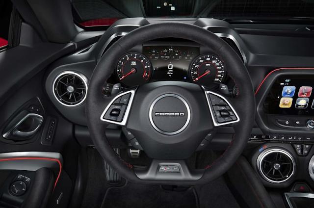2017 Chevrolet Camaro Zl1 Interior