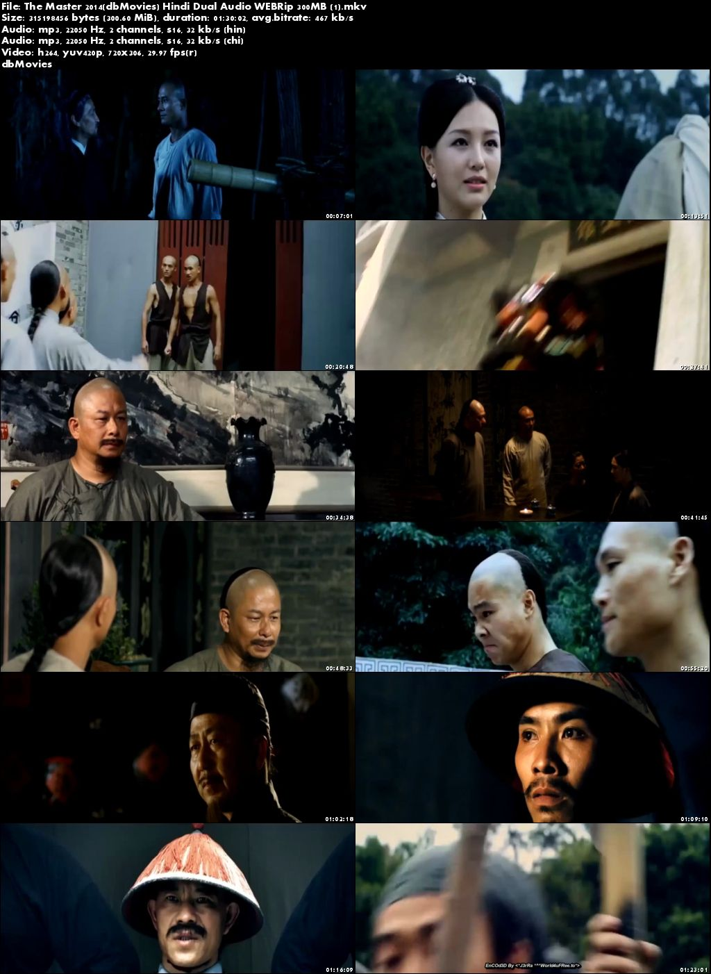 screen shot The Master 2014 Full Movies Download Dual Audio 300MB Free