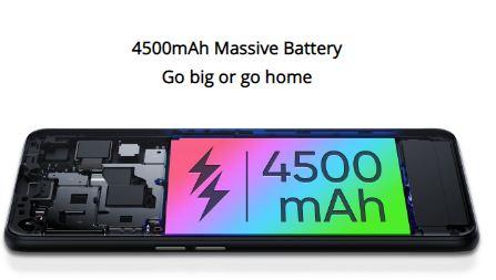 realme x7 pro 5g battery