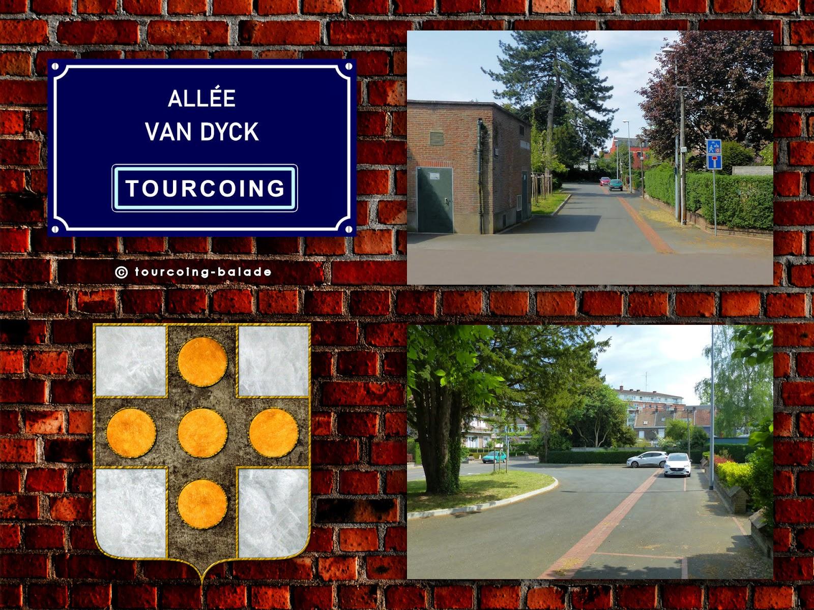 Allée Van Dyck, Tourcoing