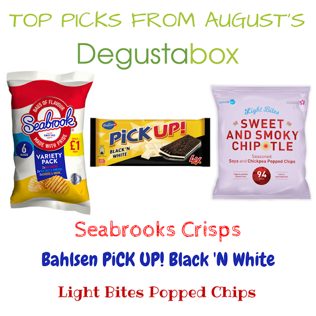 Top picks from the August 2017 Degustabox