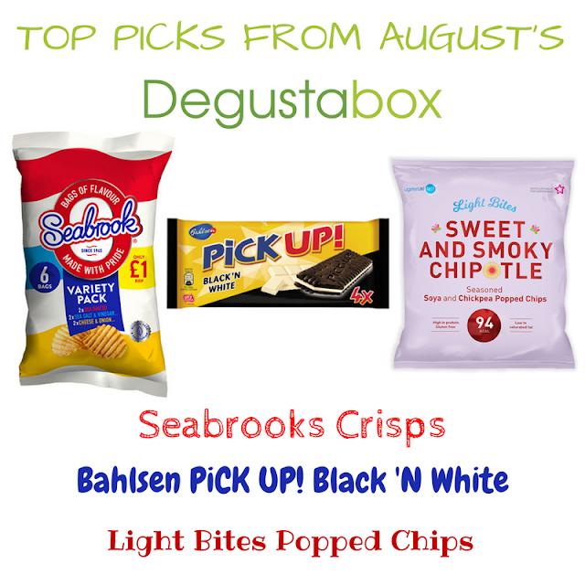 Top picks from the August 2017 Degustabox