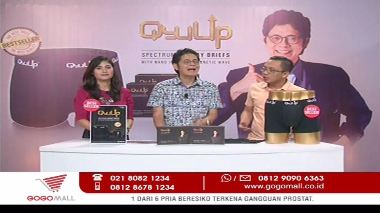 Frekuensi siaran Gogomall TV di satelit Palapa D Terbaru
