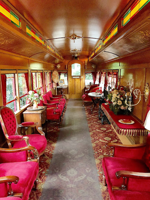 Interior Tren Vip Disneylandia Lilly Belle