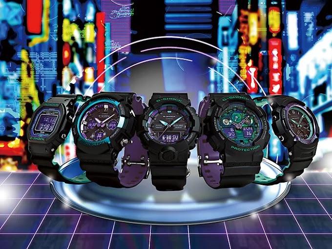 G-Shock รุ่นสีพิเศษที่เลิกผลิตไปในปี 2019