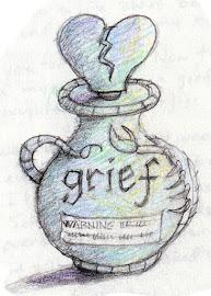 Bottled Grief Art -- copyright Mark A Hicks
