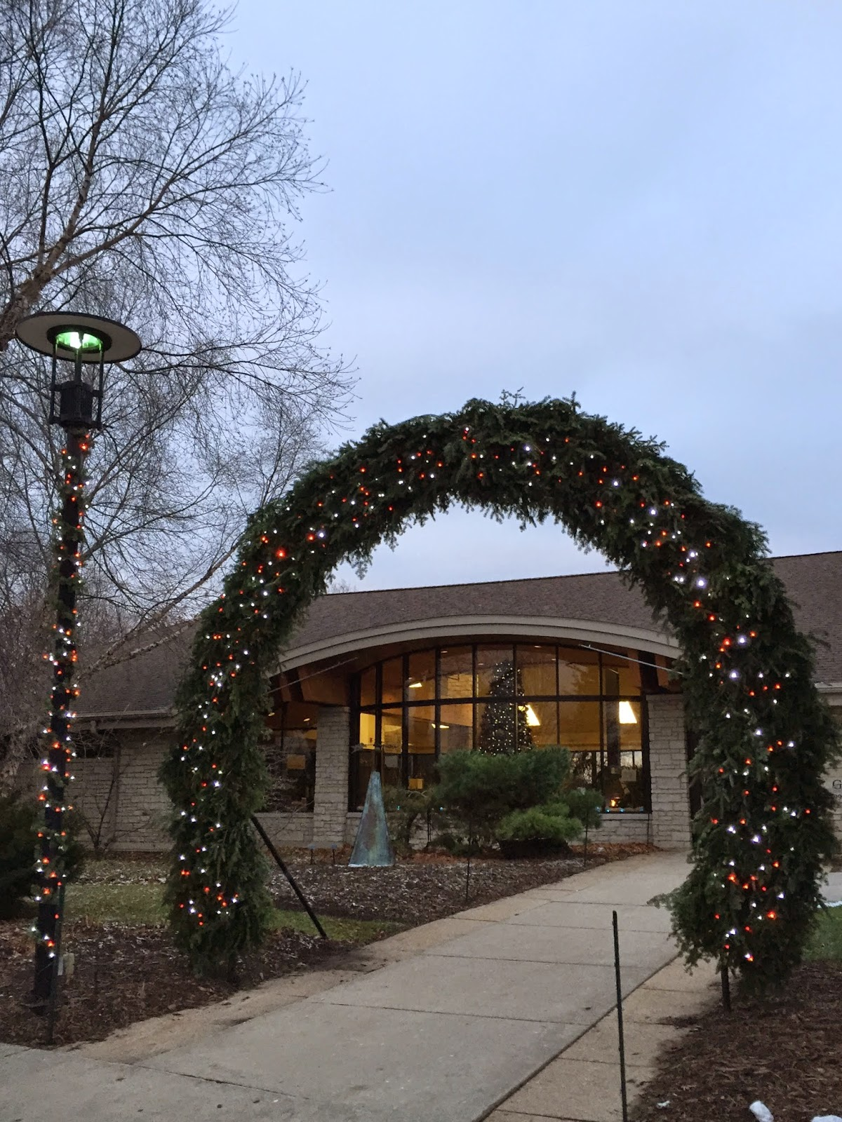 The Green Bay Botanical Garden Has Been Decorated For The Upcoming Holiday  Season.