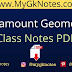 Paramount Geometry Class Notes PDF in English