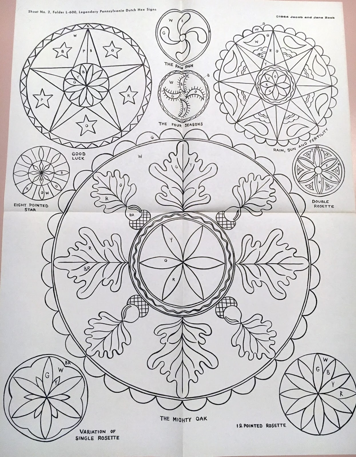 The monkey buddha amish hex sign rosette patterns the rosette pattern is much older more widespread than just the use by the amish here is a flikr photo gallery showing ancient uses of the flower of biocorpaavc Images
