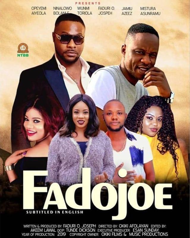 GIST: Popular Nigerian Artist Fadojoe Set To Premiere Self Titled movie FadoJoe (Details)