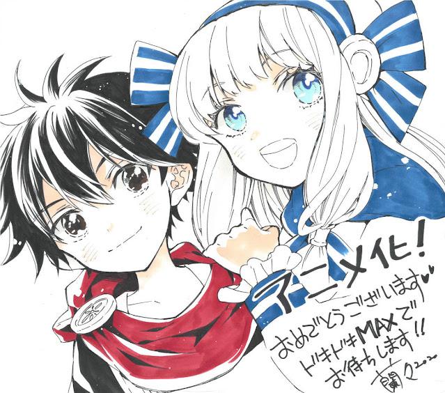 Ririnra proveyó una nueva ilustración para celebrar el anime