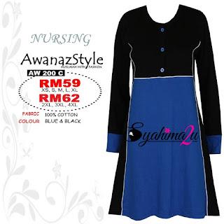 T-Shirt-Muslimah-Awanazstyle-AW200C