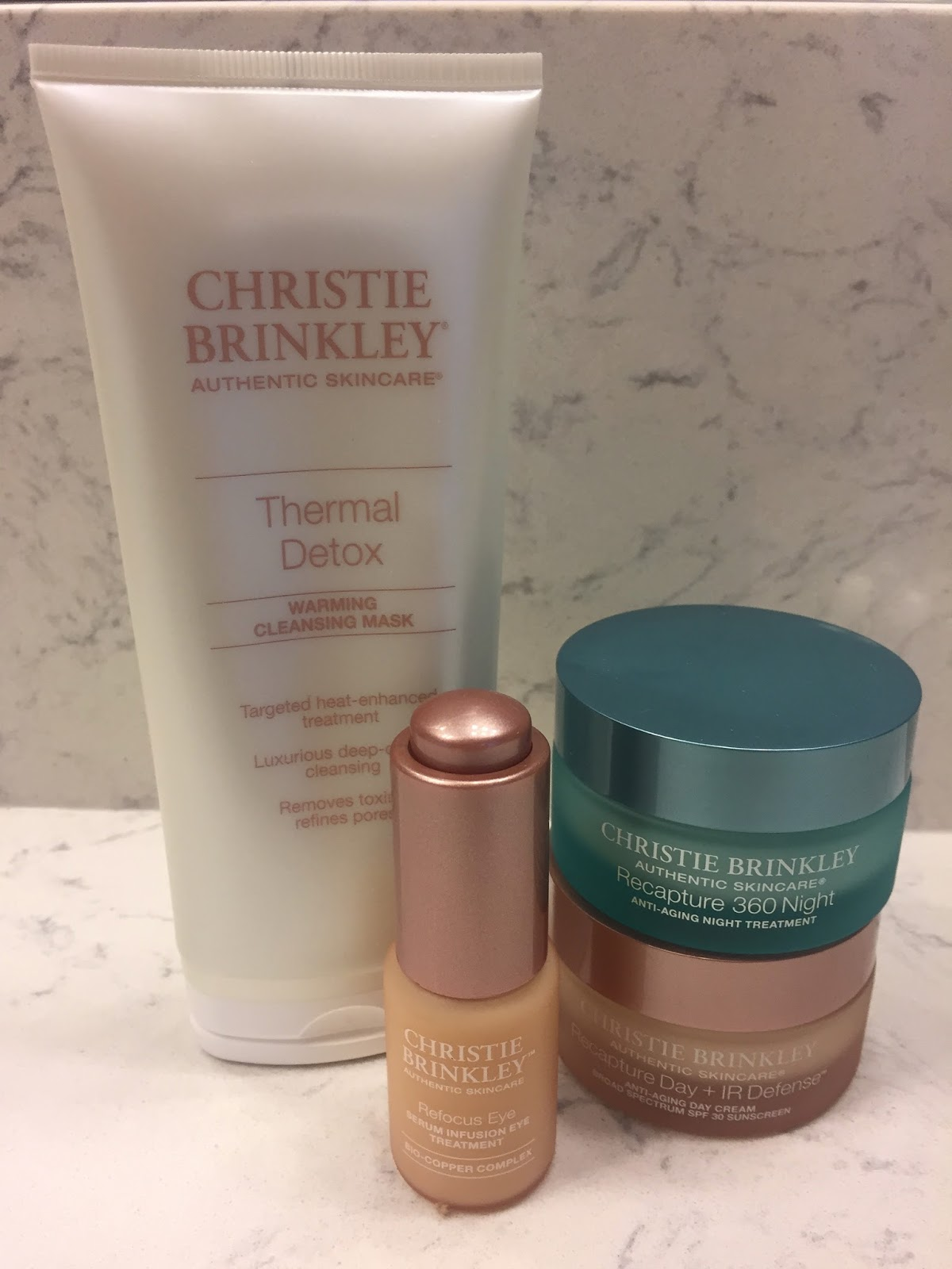 Pammy Blogs Beauty Christie Brinkley Authentic Skincare Skincare
