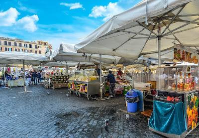 Comprar comida en Italia