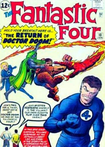 Fantastic Four cover art