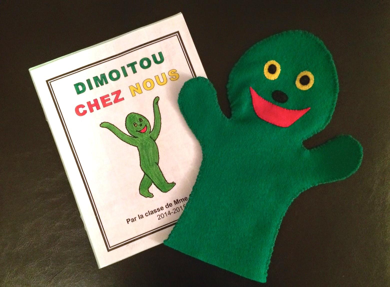 Dimoitou Hand Puppet - Dimoitou chez nous