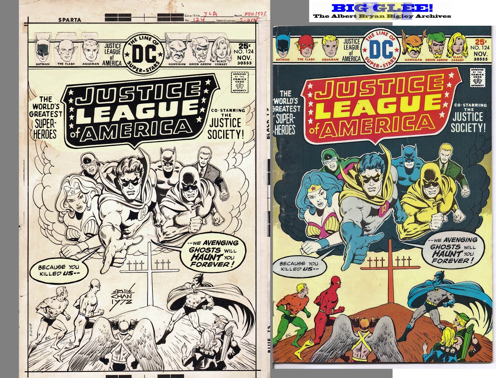 Justice League Comic Strip TORN 1-Sided Sublimated Big ... |Justice League Comic Strip